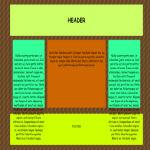 12 Урок. Как сделать каркас сайта? Таблицы html